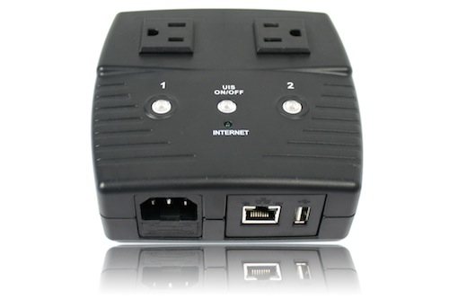 5Gstore 2-Outlet IP Switch for Remote Automation/Rebooting